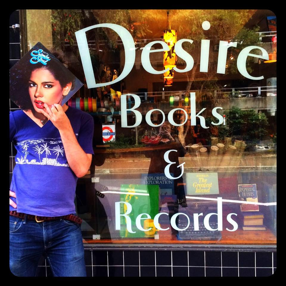 Desire Books and Records Manly shop front
