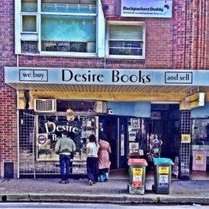 Vintage Books and Records Store in Manly